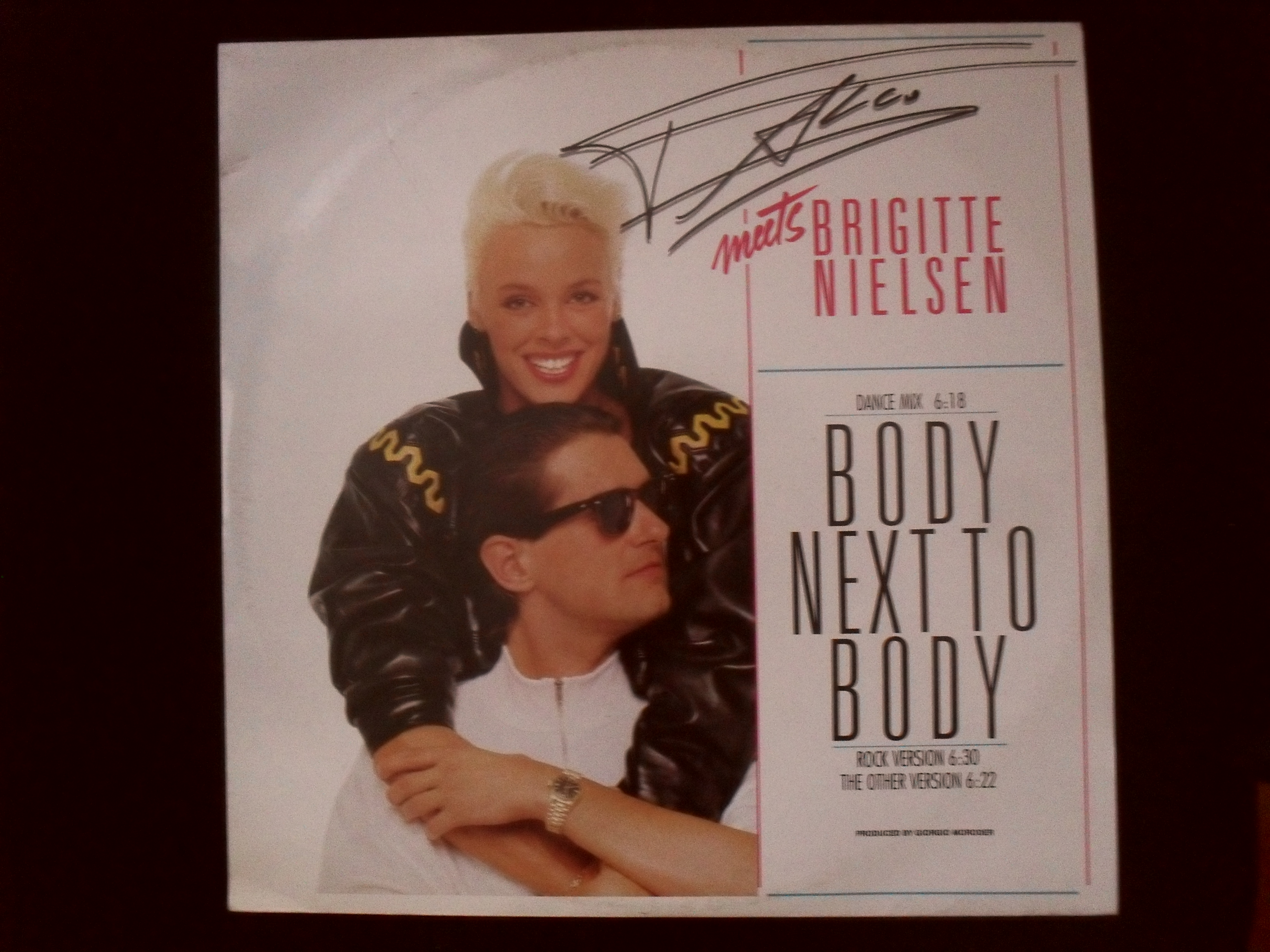 Falco meets Brigitte Nielsen - Body Next To Body Maxisingl